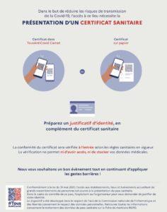 info pass sanitaire
